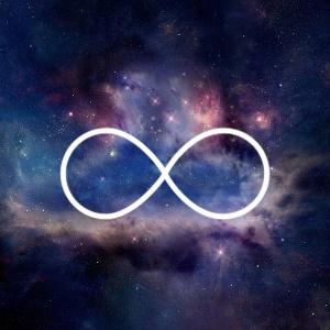 white infinity